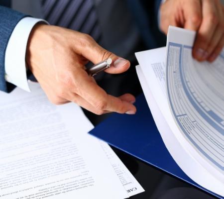 spisywanie dokumentów